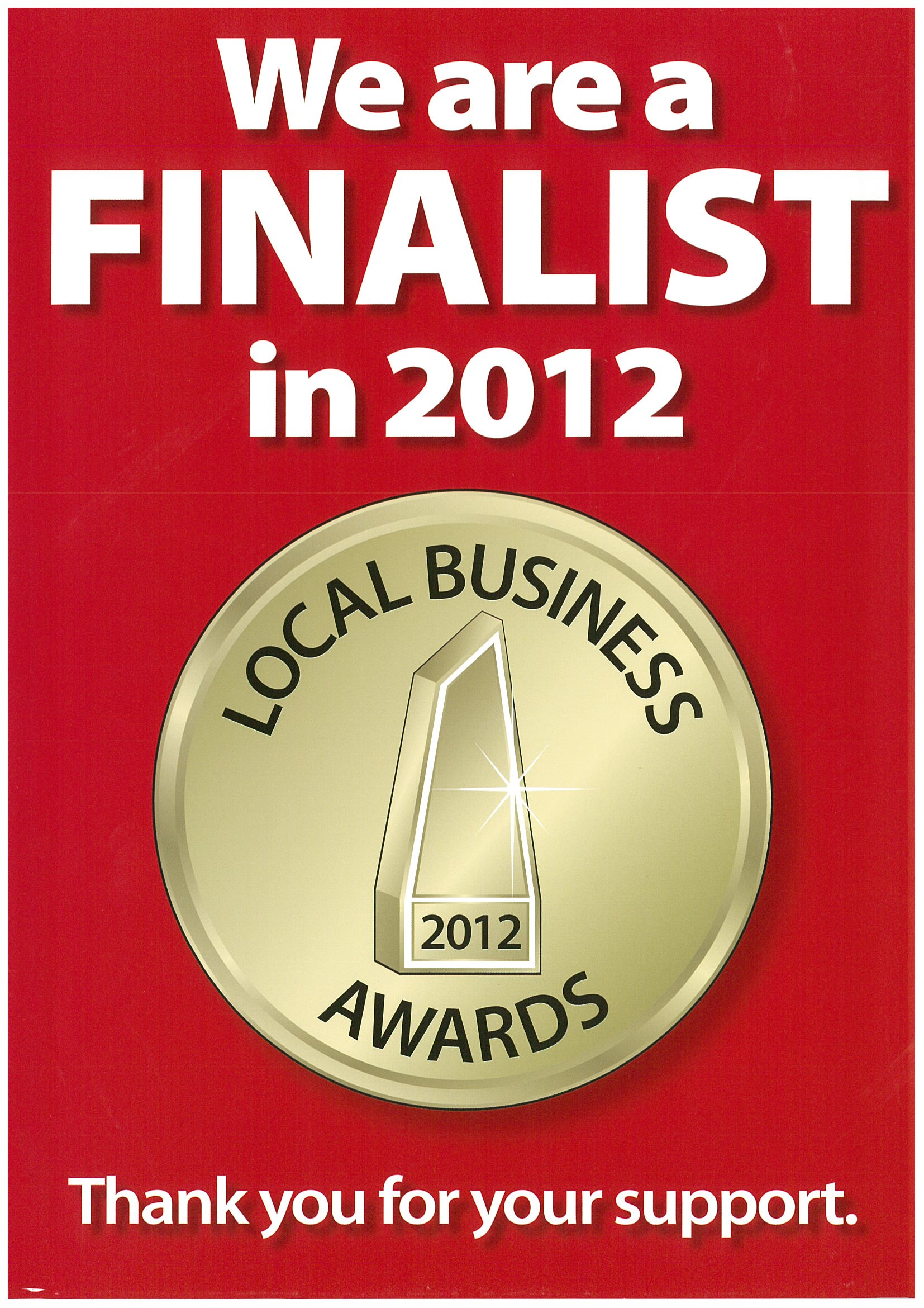 2012 Local Business Awards 1